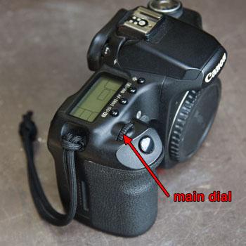 Fixing a Slipping Main Dial on a Canon DSLR : Martin Pot