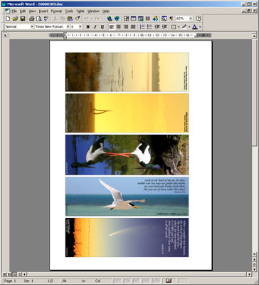 Bookmark Template Microsoft Word Image Collections Template Design