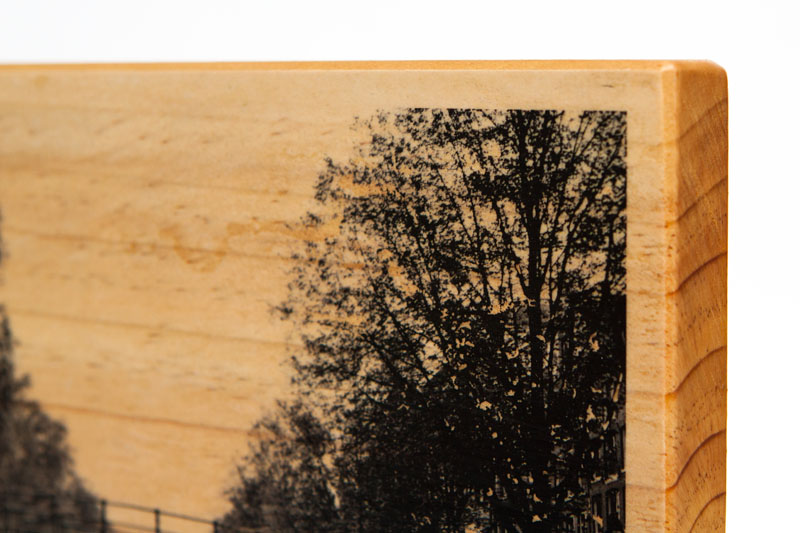 wood prints transferring a photo onto wood martin pot