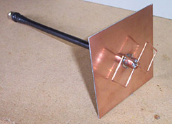 completed biquad antenna